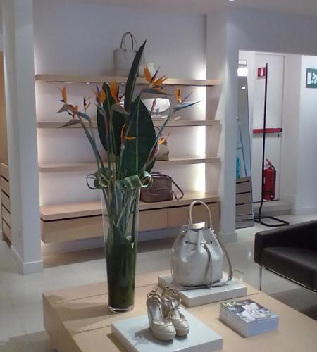 Padova - allestimento angolo espositivo boutique.