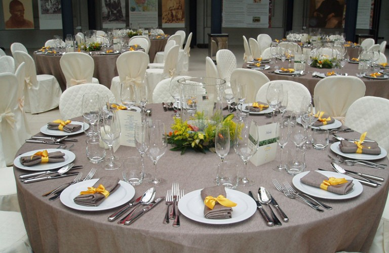 Allestimento floreale cena aziendale - Bologna