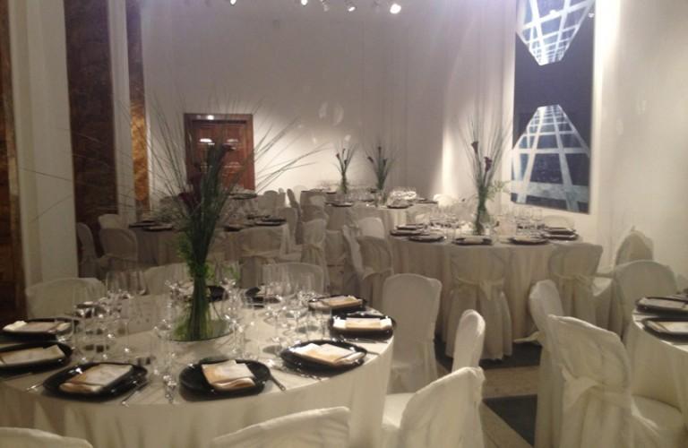 Milano - allestimento cena aziendale