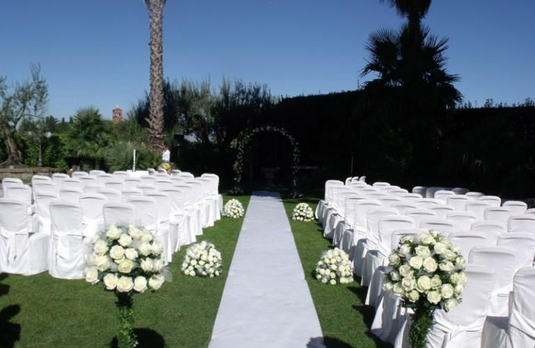 Perugia - allestimento floreale per cerimonia nuziale