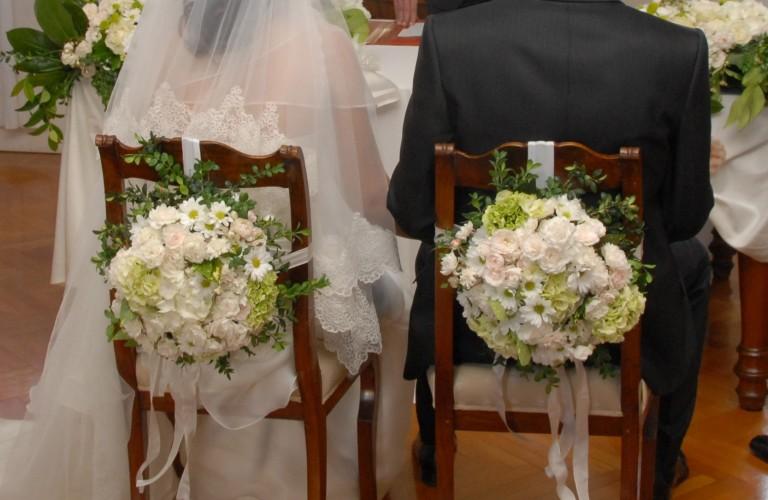 Padova - particolare allestimento matrimonio